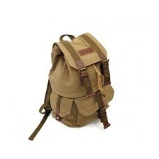 Retro Canvas DSLR Camera Backpack - Brown