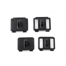 GoPro Standard/Skeleton Backdoor Mounts for Hero 3+/4 Camera - Black