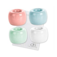4 Pieces Ceramic Toothbrush Holders