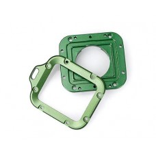 GoPro Full Aluminum LANYARD RING Mount for Hero 3 Black Edition- Green