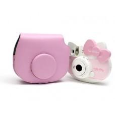 Leather Camera Case for Fujifilm Instax Mini Hello Kitty