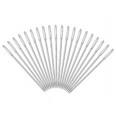20 Pieces Stainless Steel Large-Eye Knitting Needles