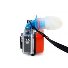 GoPro Surf Wakeboarding Mouthpiece Mouth Mount for Hero Camera - Blue