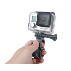 GoPro V2 Finger Grip Holder Stabilizer Mount for Hero Camera - Gray
