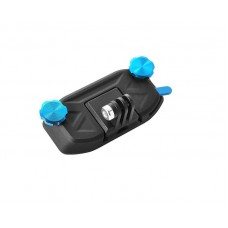 GoPro Strap Mount Waist Buckle Hanging Quickdraw for Hero Camera-Blue