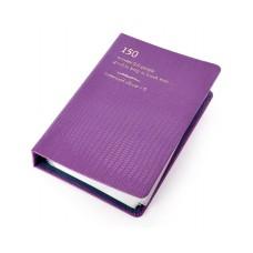 Luxury Card Holder Photo Album for Fujifilm Instax Mini Films - Purple