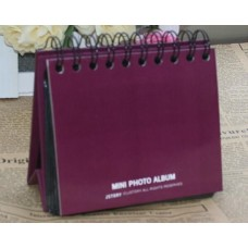 Simple Stand Photo Album for Fujifilm Instax Mini Films - Purple