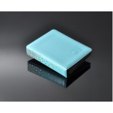 Swarovski Crystal Photo Album for Fujifilm Instax Mini Films -Sky Blue
