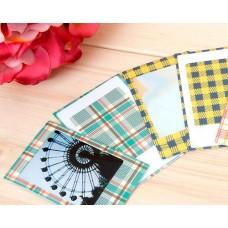 80Pcs Photo Sticker Borders for Fujifilm Instax Mini Films - Plaid