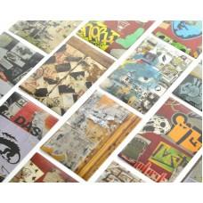 80 Sheets Fujifilm Instax Mini Films Decor Sticker Borders - Skeleton