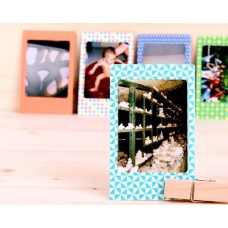 20Pcs Photo Sticker Borders for Fujifilm Instax Mini Films - Geometric