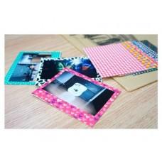Color Fujifilm Instax Wide 210/ 300/ 200 Films Decor Sticker Borders-B