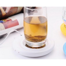 Cute Bear Series Desktop USB Cup Warmer - White