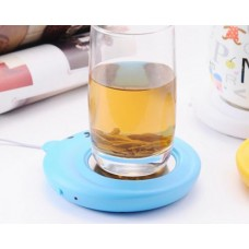 Cute Bear Series Desktop USB Cup Warmer - Blue