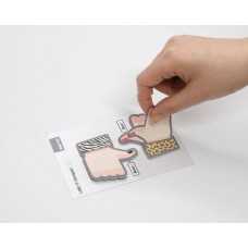 Thumb Up Series Sticky Notes Leopard Pattern