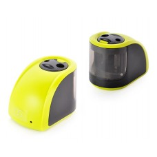 Battery Powered Electrical Pencil Sharpener - Green