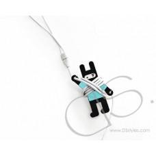 Ninja Rabbit Cable Wrap Organizer - Ice Blue