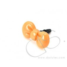 Headphone Jack Plug - Ribbon Orange