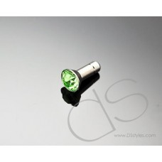 Green Crystal Headphone Jack Plug