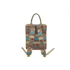 Bohemian Series Women's Laptop Handbag and Backpack
