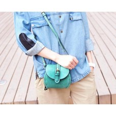 Chic PU Leather Shoulder Bag for Women - Black