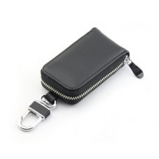 Zipper Leather Car Key Chains